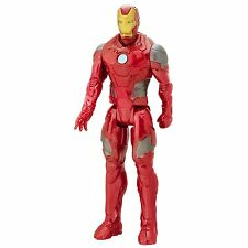 "MARVEL AVENGERS - TITAN HERO SERIES - 12"" FIGURE - IRON MAN - BATTLE SUIT - NEW"