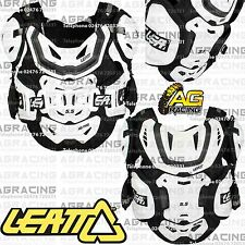 Leatt Adult 5.5 Pro HD White Chest Back Shoulder Flank Body Armour 70-85kg New