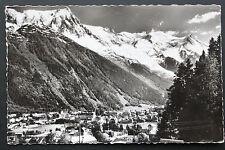 Carte postale 1962 CHAMONIX - L'Aiguille du Midi et le Mont-Blanc