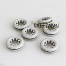 8pcs Silicone Insert Ring for Dental Curing Light Shield Plate Shade Board