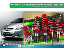 VIOS D7 JAPAN Adjustable Coilover High Low Body Shift