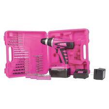 The Original Pink Box Pb18vnic Pink 18-volt Cordless Drill