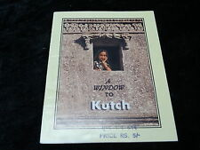 "C1990's Booklet - ""A Window to Kutch"" - India"