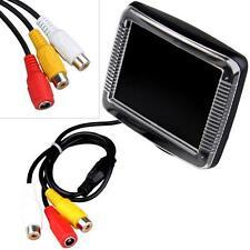 """3.5"""" TFT Car CCTV Rearview Camera DVD Monitor PAL NTSC"""
