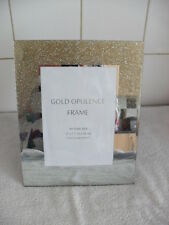 """Opulence Gold Effect  Picture Frames 5""""x 7"""""""