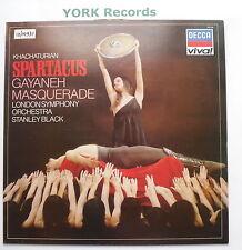 VIV 54 - KHACHATURIAN - Spartacus BLACK London SO - Excellent Con LP Record