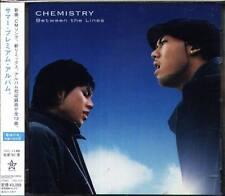 CHEMISTRY - Between the Lines - Japan CD+2BONUS - J-POP - 13Tracks OBI