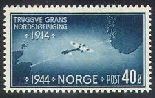 Norway 1944 Plane/Aircraft/Aviation/Transport/Map/Bleriot XI/History 1v (n23453)