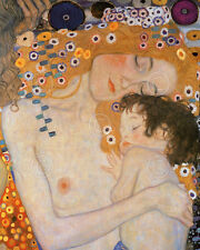 ART PRINT - Mother and Child (The Three Ages of Woman) Gustav Klimt 14x11 Poster