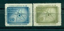 Nations Unies New York 1958 - Michel n. 66/67 - AIEA - IAEA