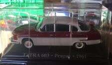 "DIE CAST "" TATRA 603 PRAGUE - 1961 "" 1/43 TAXI SCALA 1/43"