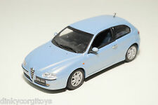 MINICHAMPS ALFA ROMEO 147 METALLIC LIGHT BLUE NEAR MINT CONDITION