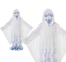 Childrens Scary Ghost Fancy Dress Costume Boys Halloween Outfit Kids Childs M