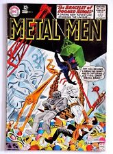 METAL MEN 1963 #4  SOLID VG+ NICE APPEAL ALIEN ROBOTS ATTACK THE METAL MEN!!