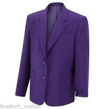 "Excellent Mens Blazer Suit Jacket  22"" - 52"" Chest Machine washable Formal Shirt"