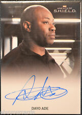 Marvel Agents of Shield Dayo Ade as Agent Barbour Auto Autograph Trading Card