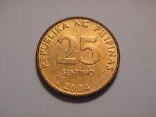 Philippines 25 Sentimos, 2004