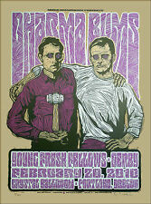 Dharma Bums Young Fresh Fellows Signed Silkscreen by Gary Houston 2010