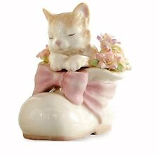 Lenox Kitty Cat in Boot Porcelain Figurine NEW IN BOX