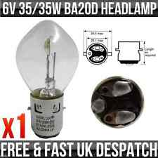 6V 35/35W BA20D BOSCH TYPE FIT DOUBLE CONTACT HEADLIGHT / HEADLAMP BULB P393