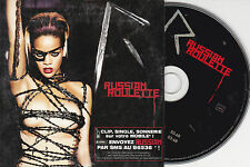 RARE CD CARTONNE CARDSLEEVE 2T RIHANNA RUSSIAN ROULETTE 2009 FRANCE