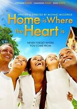 Home Is Where The Heart Is, Very Good DVD, Channing Nash, Dion Davis, Deshaude B