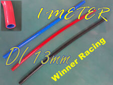 """ID 13mm 1/2"""" Silicone Heater Hose Coolant Turbo Radiator Tube RED Sold By Meter"""