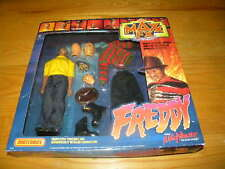 1989 Matchbox MAX FX Freddy Kruger A Nightmare on Elm Street Figure Kit In Box