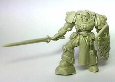 Space knight templar of the black guard. true scale marines.