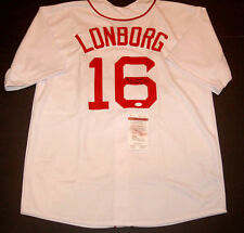 """Jim Lonborg """"Cy Young"""" Boston Red Sox Signed White Style Jersey (JSA, COA)"""
