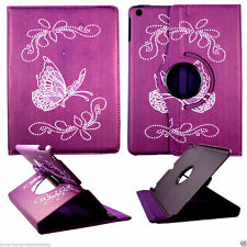 Foliorple butterfly  For Apple iPad air iPad 5   Rotate Folio leather case cover