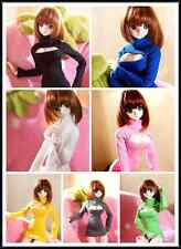 1/3 BJD Clothes7Color(Black/White/Pink/Yellow/Blue/Green/Grey)Sweater Dress Skir