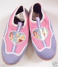 Girls Pink Walt Disney Princess Bell Cinderella Aqua Water Shoes Size UK 12-13