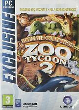 Zoo Tycoon 2: Ultimate Collection [PC-DVD Computer, Region Free, 4 Expansions]
