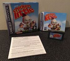 Disney's Chicken Little-Nintendo Gameboy Advance Juego en Caja Con Manual