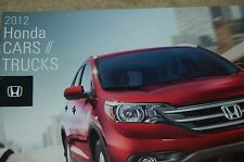 2012 Honda New Car Brochure