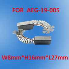 Carbon Brushes For AEG 19-005 Angle Grinder WS200S WSC2300S WSCD2300S WSD2300S