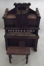 Upright Piano Shaped Music Box With Bench