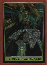 1999 Topps Star Wars Chrome Archives #89 Within The Death Star   Millennium