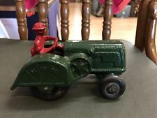 1930s OLIVER ORCHARD 70 TRACTOR - cast iron antique FARM TOY