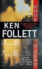 G, Code To Zero, Ken Follett, 0451204530, Book
