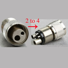 Dental High Speed Handpiece Turbine Adapter Holes Changer from 2 to 4 Hole JT1