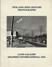 19th and 20th Century Photographs, Catalogue 5, Lunn Gallery, 1976