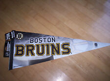 NHL BOSTON BRUINS Hockey Souvenir FELT PENNANT NWT Made in U.S.A