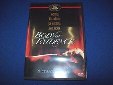 DVD-ULI EDEL-IL CORPO DEL REATO-BODY OF EVIDENCE-MADONNAWILLEM DAFOE-2009-20th