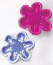 Crochet Pattern ~ FLOWER SCRUBBER or COASTERS ~ Instructions