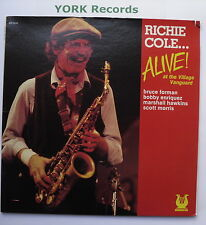RICHIE COLE - Alive! At The Village Vanguard - Ex Con LP Record Muse MR 5270