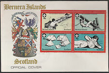 GB Locals - Bernera (1314) 1982 SCOUTS 75th Anniv set of 4 on first day cover
