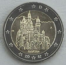 2 Euro Deutschland A 2012 Neuschwanstein / Bayern unz
