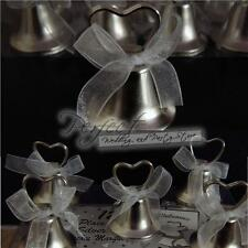 12 Wedding Place Card Silver Working Bell Table Number or Menu Card Holders